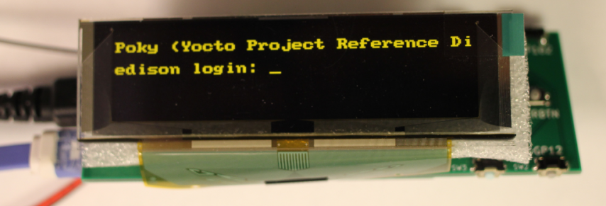 Edison Console via the Framebuffer
